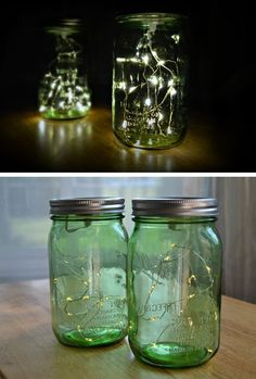 Firefly Mason Jar Lights | Click Pic for 24 DIY Garden Lighting Ideas | DIY Outdoor Lighting Ideas