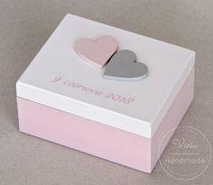 Różowe pudełko na obrączki