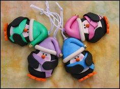 Polymer Clay Christmas Ornaments Instructions | Clay Holiday Ornaments | Ornaments | Custom Designs