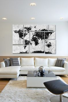 Wild World 8 Panel Sectional Wall Art on @HauteLook