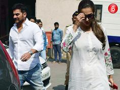 SPOTTED: Arbaaz Khan and Malaika Arora Khan outside family court post marriage counselling Arbaaz Khan, Family Court, Marriage Advice, Counseling, The Outsiders, Bollywood, Shit Happens, Coat, Bubble