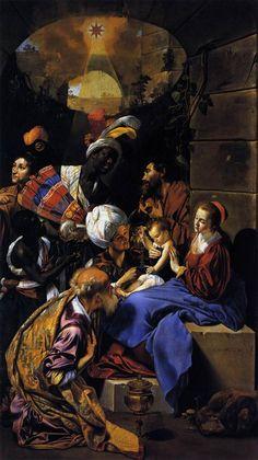 Fray Juan Bautista Maino – L'Adoration des Mages (1613)