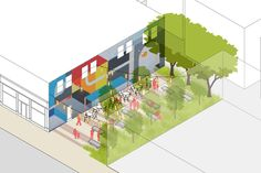 Open Space Typologies /Pocket Park Designs                                                                                                                                                                                 Más