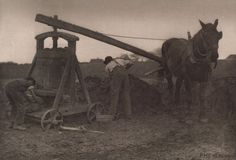 Peter Henry Emerson (British, 1856-1936). The Clay Mill from Pictures of East Anglian Life (1888). Date:c. 1887