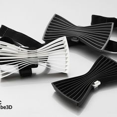 3D Printable bow tie    by Be3D printers