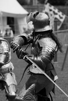 I'd love to own a suit of armor and be able to duel in tourneys and renaissance festivals.