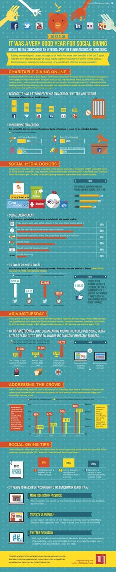 How Non-Profits Relied on Social Media in 2012