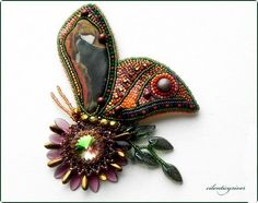 Beautiful beaded jewelry with butterflies | Beads Magic