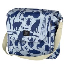 Farmyard nappy bag – Lou Hopper Farm Yard, Bag Making, Fabric Design, Diaper Bag, Backpacks, Bags, Style, Fashion, Handbags