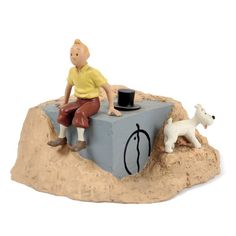 Les cigares du Pharaon Herge Tintin, Fictional Heroes, Comic Movies, Creative Art, Comic Art, Action Figures, Objects, Gadgets, Geek Stuff