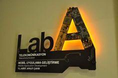 Laboratory Sign Design
