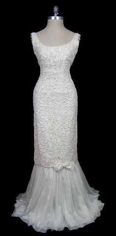 Wedding Dress- Valentino, 1960s this is just as gorgeous today as it was in the 60's