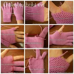 Best 12 Hand-Picked Gloves & Mitts – Sized for toddlers, children, and adults, the design options in Hand-Picked Gloves and Mitts by Karen McKenna make it easy to crochet hand… – Page 288652657364407984 – SkillOfKing. Crochet Gloves Pattern, Crochet Mittens, Crochet Stitches, Knit Crochet, Crochet Hats, Free Crochet, Crochet Wrist Warmers, Crochet Toddler, Fingerless Gloves Knitted