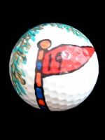 Hand Painted Golf Balls for that golfer in your life. Golfers love all things golf related.