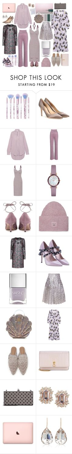 """Wondering + Wandering"" by cherieaustin on Polyvore featuring Lime Crime, Gianvito Rossi, Vetements, Missoni, STELLA McCARTNEY, Emporio Armani, Valentino, Acne Studios, Dolce&Gabbana and Nails Inc."