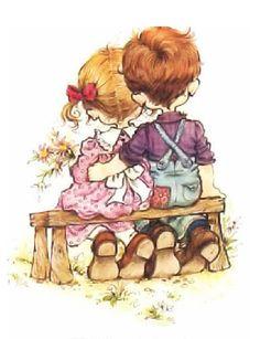 sarah kay, sarah key и holly hobbie Sarah Key, Holly Hobbie, Sarah Kay Imagenes, Cute Images, Cute Pictures, Decoupage, Illustrations, Cute Illustration, Vintage Children