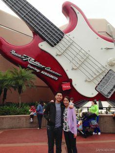 Hollywood Studios - Rock N Roller Coaster