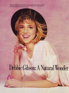 Debbie Gibson: A Natural Wonder