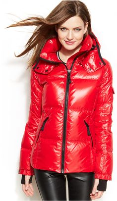 S13/NYC Mogul Hooded Puffer Jacket $240.00 $116.99 #dressesonsale