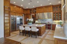 Cook's Choice - Inside Heidi Klum's Brentwood Estate - Photos