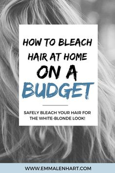 Find out how to bleach hair at home! How to tone hair fo. - - Find out how to bleach hair at home! How to tone hair for blondes at home and fix brassy tones. Bleached Hair at Home Bleached. Diy Bleach Hair, Diy Hair Dye, Bleach Blonde Hair, Dyed Blonde Hair, Best Bleach For Hair, Toning Blonde Hair, Blonde Ombre, Blonde Color, Blonde Brunette
