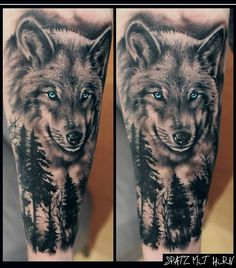 The 85 Best Wolf Tattoos for Men | Improb