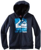 Quiksilver Boys 8-20 Solo Brother Hoodie