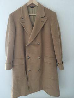 Vintage Amicale 100% Camel Hair Trench Style Dress Coat - Size... #CafeMotique #ColoradoSprings #vintagelifestyle #caferacer #vintagemoto