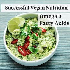 Vegan Nutrition, Nutrition Education, Vegans, Superfood, Guacamole, Clean Eating, Wellness, Facts, Healthy Recipes