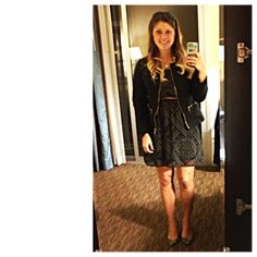 Wednesday, November 20, 2013 - LA What I Wore: Dress- Xileration Pumps- Xielration Jacket- Charter Club Today I was in LA doing more researc...