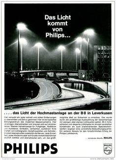 Original-Werbung/ Anzeige 1969 - PHILIPS HOCHMASTANLAGE B8 LEVERKUSEN - ca. 180 x 240 mm