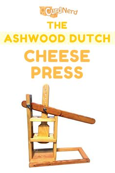 Making Cheese At Home, How To Make Cheese, Cheese Press, Dutch Cheese, Cheese Maker, Homemade Cheese, Cheese Platters, Making Tools, Unique Recipes
