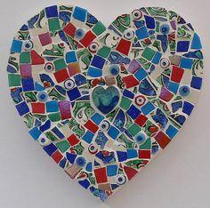 mosaic heart     www.notonthehighstreet.com