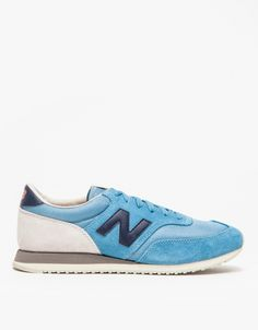 New Balance in ash Blue