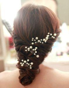 5pcs bridal hair pin ,wedding hair pin,Pearl Hair pins, Bridal hair Clips, Wedding Prom Pageant Bridsmaids