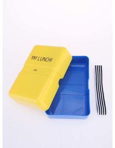 Happy Jackson - Žlutý svačinový box  Yay Lunch - 1