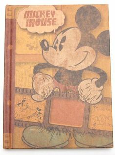 Retro Mickey Mouse Diary by Monogram. $6.84. Officially Licensed
