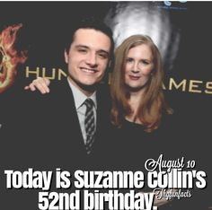 Happy birthday Suzanne Collins. Thanks for writing such an amazing trilogy and changing my life with it. :)