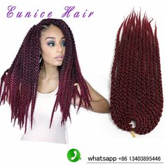 Freetress HAIR 3D Split Cubic Twist Braids 120G/Pack Ombre