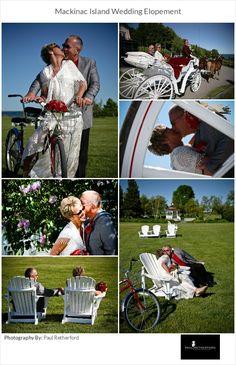 elopement wedding mackinac photo