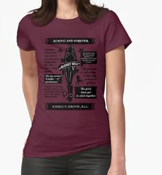 https://www.redbubble.com/people/ksuann/works/21373070-rebekah-mikaelson?p=t-shirt&style=womens&body_color=cranberry&print_location=front in Large