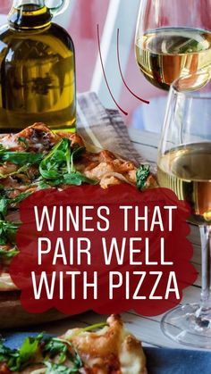 Pizza and wine are often eaten together, but some wines pair better with pizza than others. Drink these wines with these types of pizza. Types Of White Wine, Different Types Of Wine, Sweet Champagne Brands, Vodka, Wine And Pizza, Carbs In Beer, Wine Flavors, Wine Meme, Wine Tasting Party
