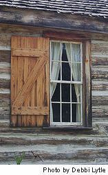 rustin cabin life | The trees most commonly used for log homes are lodgepole pine, Douglas ...