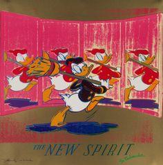 Ads: New Spirit 1985 FS II.357 by Andy Warhol - Screenprint