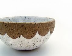 Rustic Bowls Stoneware Bowls Spice Bowls by susansimonini