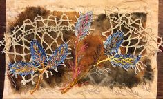 Hand Stitching, Needlework, Moose Art, Ann, Textiles, Colour, Fabric, Painting, Embroidery
