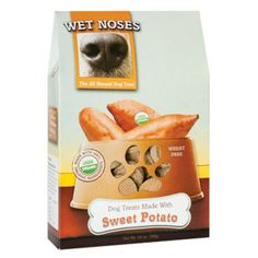 "I love the packaging! And the brand, ""Wet Noses,"" too cute! That being said, I need my bf to stop buying dry cookies for a dog that doesn't like dry cookies!!"