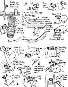 Bah Humpug pug Truths, except for the baths, our pug loves baths!