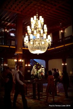 The Grand Hallway and entrance to Hotel del Coronado, takes you back to an elegant Victorian era.