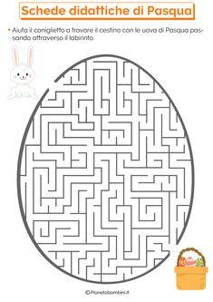 Schede Didattiche di Pasqua per la Scuola Primaria | PianetaBambini.it Classroom Decor, Pixel Art, Coding, Kids Rugs, School, Gaia, Sport, Google, Geography